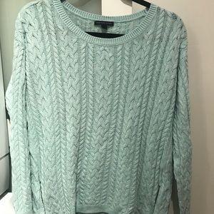 AE Mint green sweater